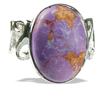 Design 14176: purple mohave american-southwest rings