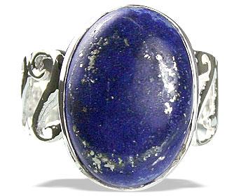 Design 14179: blue lapis lazuli american-southwest rings
