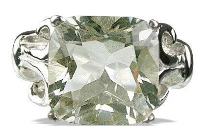 Design 14186: green green amethyst mens rings