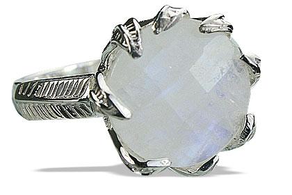 Design 14189: white moonstone cocktail rings