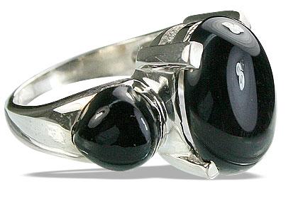 Design 14220: black onyx cocktail rings