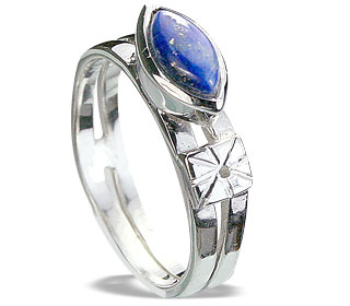 Design 14280: blue lapis lazuli cocktail, engagement rings