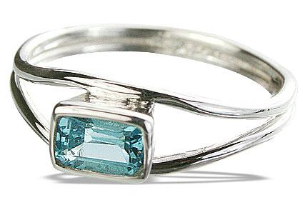 Design 14297: blue blue topaz contemporary rings