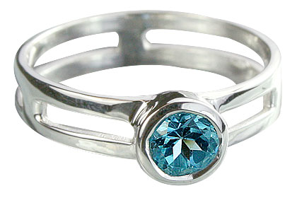 Design 14321: blue blue topaz rings