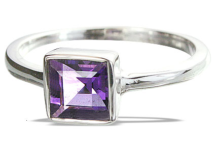 Design 14326: purple amethyst rings