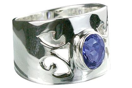 Design 14336: blue iolite rings