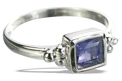 Design 14344: blue iolite rings