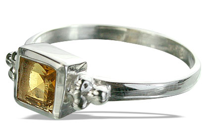 Design 14345: yellow citrine rings