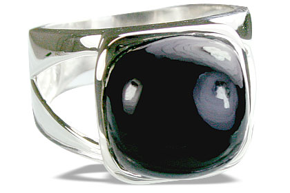 Design 14393: black onyx rings