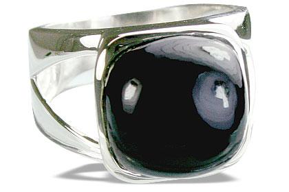 Design 14393: black onyx rings