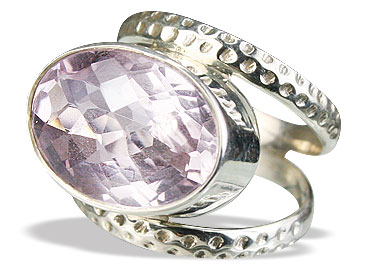 Design 15625: purple amethyst rings