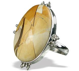 Design 15849: black,yellow tiffany stone classic rings