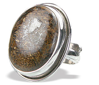 Design 15924: brown bronzite cocktail rings