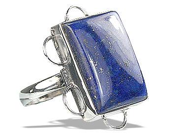 Design 15953: blue lapis lazuli american-southwest rings