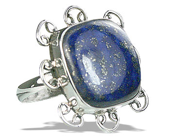 Design 15959: blue lapis lazuli cocktail rings