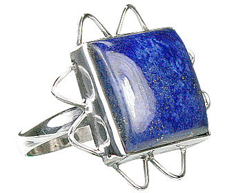 Design 15974: blue lapis lazuli american-southwest rings