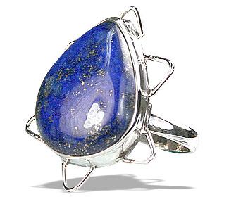 Design 15977: blue lapis lazuli classic rings