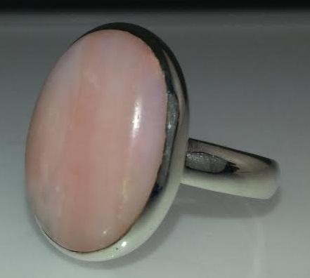 Design 16266: pink pink opal rings