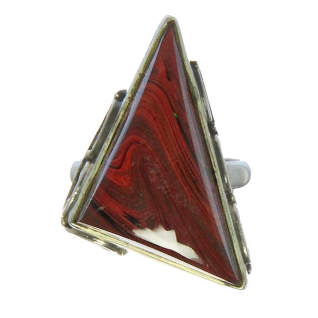 Design 21218: red multi rings