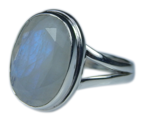 Design 21333: blue,white moonstone rings
