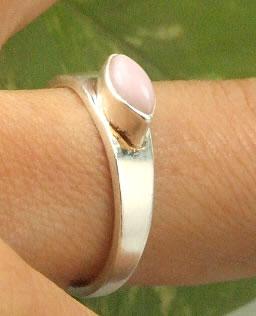 Design 7212: pink pink opal rings