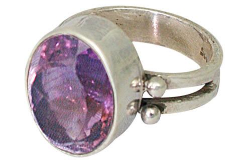 Design 7672: purple amethyst rings
