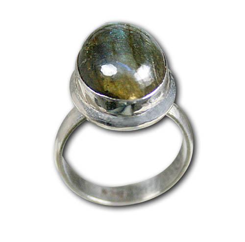 Design 8584: blue,gray labradorite rings
