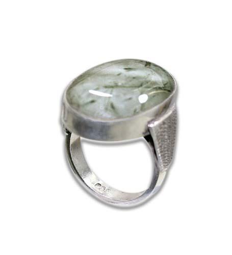 Design 8590: White, Black rotile rings