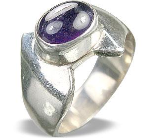 Design 8663: purple amethyst rings
