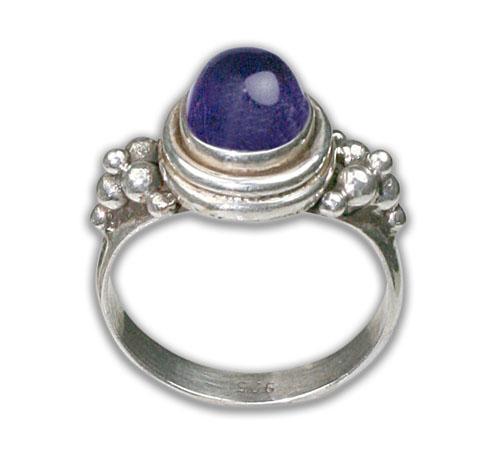 Design 8685: purple amethyst rings