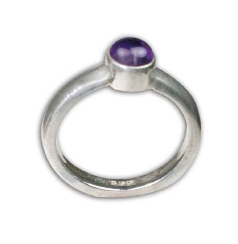 Design 8733: Purple amethyst rings