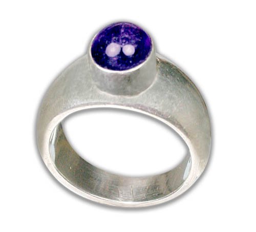 Design 8737: purple amethyst rings