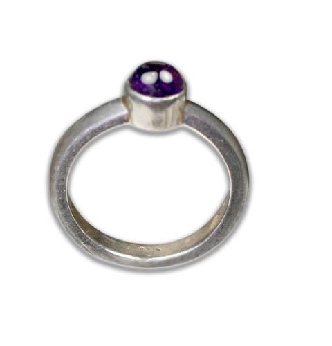 Design 8744: purple amethyst rings