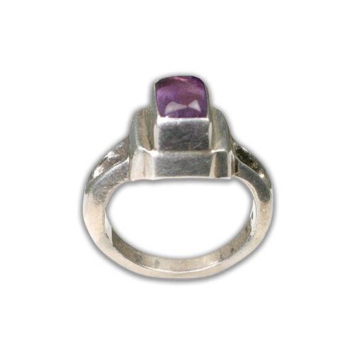 Design 8748: purple amethyst rings