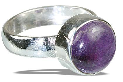 Design 8749: purple amethyst rings