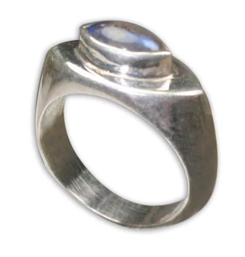 Design 8750: blue,gray labradorite rings