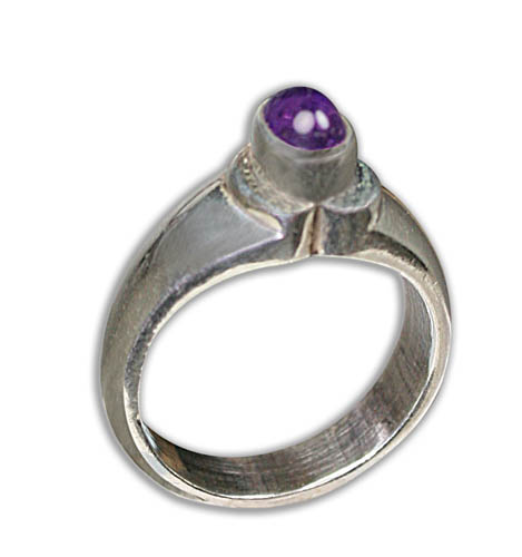 Design 8751: purple amethyst rings