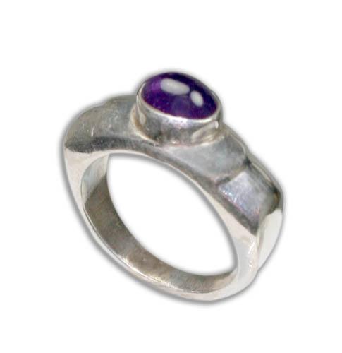 Design 8791: purple amethyst rings