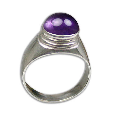 Design 8796: purple amethyst rings