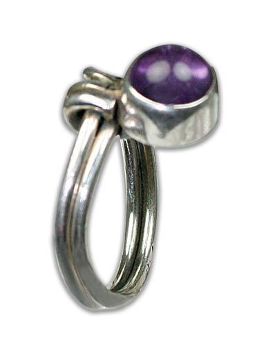 Design 8797: purple amethyst rings