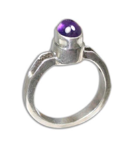 Design 8798: purple amethyst rings