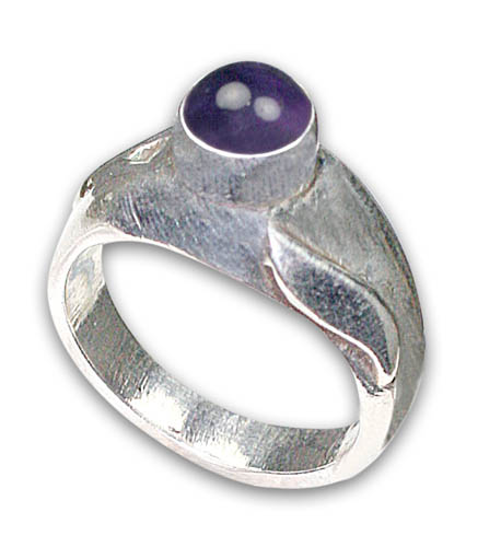 Design 8799: purple amethyst rings