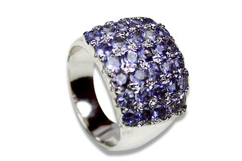 Design 8939: Purple iolite rings