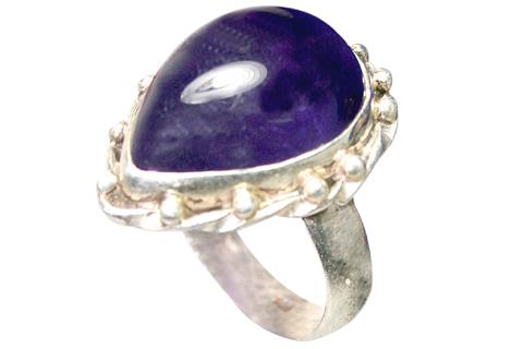 Design 9168: purple amethyst rings