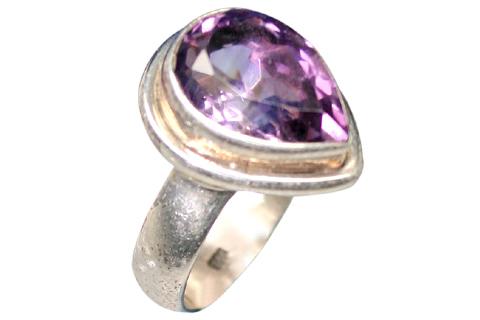 Design 9176: purple amethyst rings