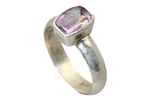 Design 9188: purple amethyst solitaire rings