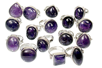 Design 9242: purple bulk lots rings