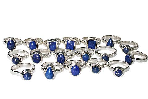 Design 9321: blue bulk lots rings
