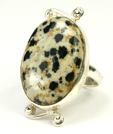 Design 9553: black,brown,yellow jasper american-southwest, mens rings