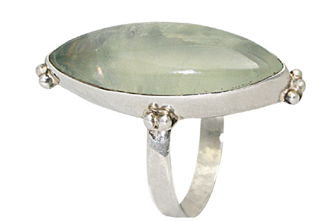 Design 9556: Green fluorite rings